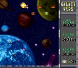Galaxy Wars SNES Taking out an enemy spacecraft (Neo mode)