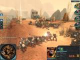 Warhammer 40,000: Dawn of War II Windows Attacking a squad of orcs while behind cover.
