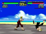 Virtua Fighter SEGA 32X Jacky vs Jacky