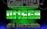 Omega DOS Title screen (EGA)