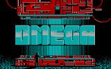 Omega DOS Title screen (CGA)