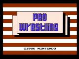 Pro Wrestling NES Title screen