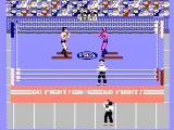 Pro Wrestling NES Starting a match