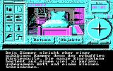 Inspektor Griffu DOS CGA: Your bedroom, now in only 4 colors!!