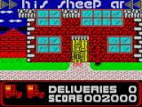 Postman Pat ZX Spectrum Delivered a parcel to Ted Glen