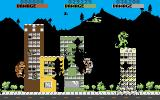Rampage Amiga A building is about to fall