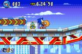 Sonic Advance 3 Game Boy Advance Grabbing hold of your partner characters...
