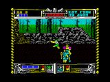 Golden Axe ZX Spectrum Fight with axe...