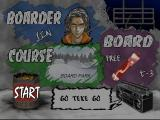 Cool Boarders 2 PlayStation Course options.