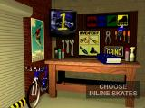 ESPN Espn2 Extreme Games PlayStation Choose your gear ! Skates, skate boards, luge boards, and bikes !