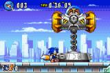 Sonic Advance 3 Game Boy Advance The first boss robot