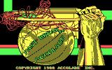 Fast Break DOS Title screen (CGA)