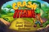 Crash of the Titans Game Boy Advance Title screen
