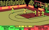 Fast Break DOS Starting a game (CGA)