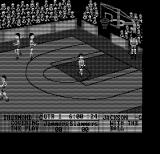 Fast Break DOS Starting the game (Hercules Monochrome)