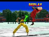 Tekken PlayStation Instant replay.