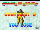 Tekken PlayStation I lose.