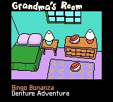 Racin' Ratz Game Boy Color Grandma's Room: Bingo Bonanza