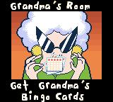 Racin' Ratz Game Boy Color Goal: Get Grandma's Bingo cards