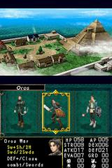 Dungeon Explorer: Warriors of Ancient Arts Nintendo DS Choose your hero