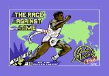 The Race Against Time Commodore 64 Title