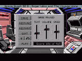 Space Quest IV.5: Roger Wilco And The Voyage Home Windows Standard Sierra settings screen