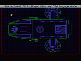 Space Quest IV.5: Roger Wilco And The Voyage Home Windows The Aluminium Mallard's diagnostics screen