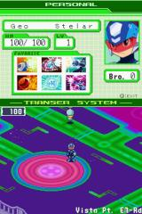 Mega Man Star Force: Dragon Nintendo DS Inside the Wave World