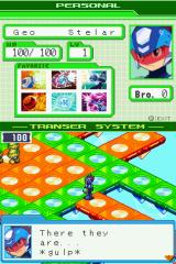 Mega Man Star Force: Dragon Nintendo DS Viruses ahead