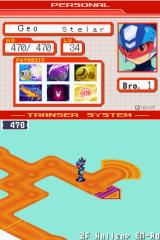 Mega Man Star Force: Leo Nintendo DS Quite nice level