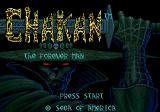 Chakan Genesis Title screen