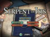The Serpent of Isis Windows Main menu