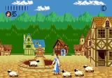 Disney's Beauty and the Beast: Belle's Quest Genesis Belle in the village