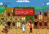 Disney's Beauty and the Beast: Belle's Quest Genesis Talking to Gaston