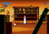 Disney's Beauty and the Beast: Belle's Quest Genesis Mini-game: catch the books to receive bonus points