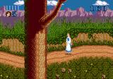 Disney's Beauty and the Beast: Belle's Quest Genesis Following the path outside the village