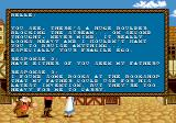 Disney's Beauty and the Beast: Belle's Quest Genesis Optional dialogue lines make this game look like an adventure