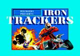Iron Trackers Amstrad CPC Title Screen