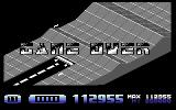 H.A.T.E. Commodore 64 Game Over - You'll only see this on the 1st and 11th stages