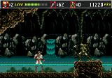 Shinobi III: Return of the Ninja Master Genesis Up to my knees in it.