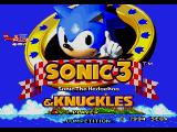 Sonic the Hedgehog 3 Genesis When inserted in a Sonic & Knuckles cartridge, the title screen changes to indicate this.