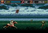 Shinobi III: Return of the Ninja Master Genesis They can run pretty fast!