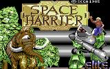 Space Harrier Commodore 64 Loading screen (Elite)
