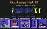 Postman Pat 3: To the Rescue Commodore 64 Hi-Scores