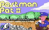 Postman Pat 2 Commodore 64 Title Screen