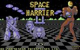 Space Harrier II Commodore 64 Loading screen