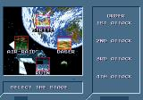 Lightening Force: Quest for the Darkstar Genesis Selecting the missions