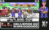 Postman Pat Commodore 64 Title Screen