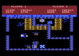 Storm Atari 8-bit More treasure to collect.. and more annoying fog.