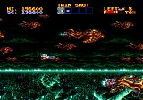 Lightening Force: Quest for the Darkstar Genesis A mysteriously looking level